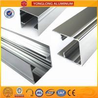 Buy cheap 1.1 Thinckness Polished Aluminium Alloy Profile Surface Brightness from Wholesalers