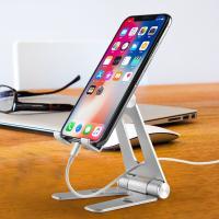 COMER Adjustable Cell Phone Tablet Desk Stand Holder Smart Mobile Bracket for iPad Samsung iPhone