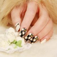 China Fashion Nail Art Supplier Gel Nail Sticker on sale