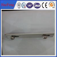 China 6063-T5 customized Aluminum solar panel mounting rail/bracket/accessories on sale