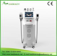 China 5 handle cryolipolysis slimming machine on sale