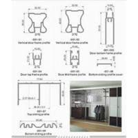 China Wardrobe Sliding Door on sale