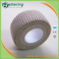 Buy cheap 2.5cm Check Pattern H-Eab Elastic Adhesive Bandage finger tape thumb tape bandage from Wholesalers