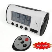 Buy cheap surveillance spy camera clock 720P CCTV MINI DVR Hidden Clock Camera with IR Remote Control from Wholesalers