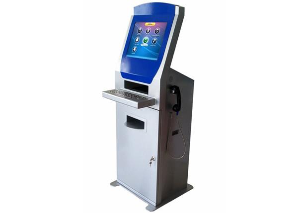 Interactive Information Printing Display Kiosk Machines
