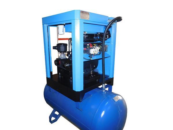 Low Noise Screw Air Compressor / Lubricated Rotor Comp Compressor AC