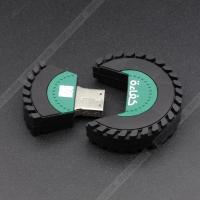 Buy cheap Pvc material tire 1GB 2GB 4GB 8GB 32G Bespoke USB Flash Drives disk Memory USB from Wholesalers