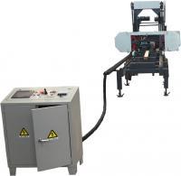 Saw Machine ! Electric Horizontal Portable Wood Bandsaw Sawmill of CNC Woodworking machine
