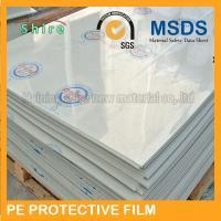China Plastic Panel Hard Surface Protection Film Polyethylene Protective Tape No Bubble on sale