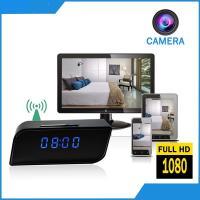 China 2018 Excellent Quality Digital Clock Hidden Camera DVR Vandal-proof Security Camera Wifi Spy Clock P2P+IP Digital Clock on sale