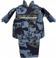 China NIJ0115.00 I / II Military Soft Bulletproof Stab Resistant Vests / Jacket on sale