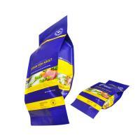 Buy cheap Plastic PE back seal pillow packing bag, Aluminium back seal bag for ocean fish adult from Wholesalers