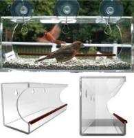 China window bird feeder/clear window bird feeder/acrylic window bird feeder on sale