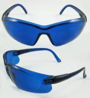 Buy cheap Arm bule Laser Impact Resistant Safety Glasses Meet CE EN166 BP-3072 from Wholesalers