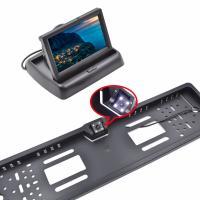 "Buy cheap 4.3"" TFT LCD Backup Camera Kit , Reverse Parking Camera Plastic Shell Material from Wholesalers"