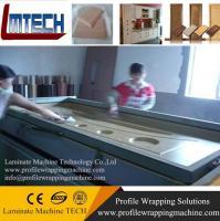 Buy cheap TM2480 pvc door making vacuum membrane press machine from Wholesalers