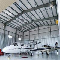 Buy cheap hotel bedspread Metal Steel Warehouse Steel Structure Hangar Large Buildings from Wholesalers