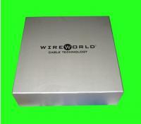 Buy cheap Silver Foil Stamping Printed Cardboard Box Packaging OEM Design from Wholesalers