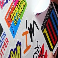 China customized motorcycle stickers skateboard sticker bumper sticker car window sticker on sale
