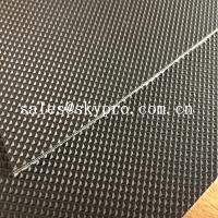 Buy cheap Wear Resistant Anti Static Mini Diamond Top Fabric PU / PVC Conveyor Belting from Wholesalers