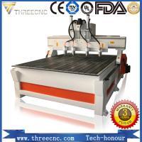 China China manufacturer Multi heads 3 axis CNC router cutting machine. TM1325-4 heads THREECNC on sale