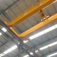 China Heavy Duty Bridge Overhead Crane / 10 Ton Electric Hoist Double Jib Crane on sale