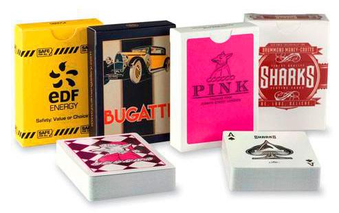 promotional customized poker