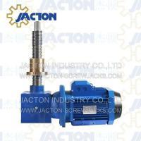 Buy cheap gearmotor jack screws, motor driven screw jack, electric lift gear motor actuator from Wholesalers