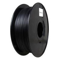 China Flame Retardant Carbon Fiber 3d Printer Filament 1.75 / 3.0 Mm Black Color on sale