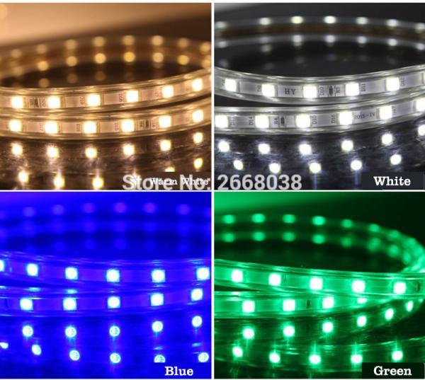 LED strip light colors