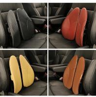 Buy cheap Breathable Foam Car Seat Cushion , Vertebral Car Waist Cushion Scientific Design from Wholesalers