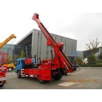 Mechanical Driven Truck Mounted Core Drill Rig  For Bridge , Dam