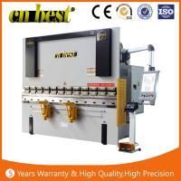Buy cheap manual press brake machine from Wholesalers