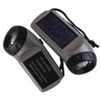 China Solar led flashlight/solar flashlight/solar torch on sale