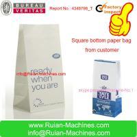 China shopping paper bag making machine on sale