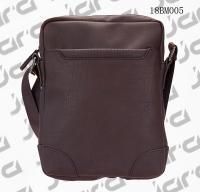 Buy cheap Brown Cross Shoulder Mens Fashion Bags , Waterproof Cross Body Bag In PU from Wholesalers