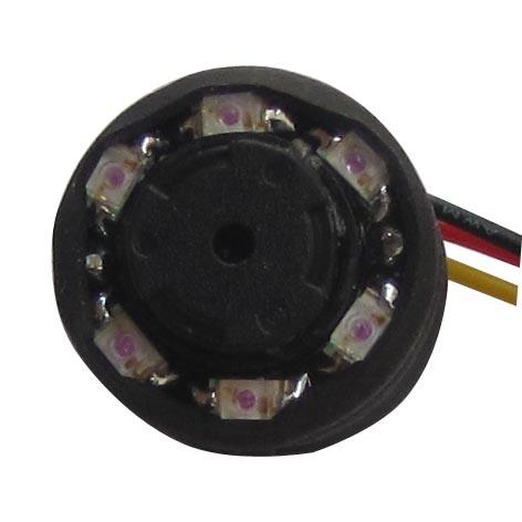0.0Lux 520TVL Mini SPY CCTV 6 IR LEDs Audio IR Camera