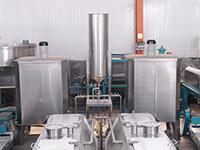 Alkali liquid system