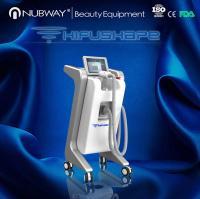 Buy cheap Nubway 1.2cm Focal HIFU Machine 10.4 Inch Screen HIFUSHAPE Slimming machin weight loss from Wholesalers