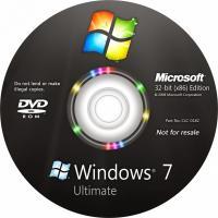 China Full Version Windows 7 Ultimate OEM Key 64 Bit Operating System DVD / CD on sale