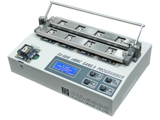 LEAPER SU-6808 Universal Gang 4 Programmer, SU6808 Stand-along eMMC Gang 8