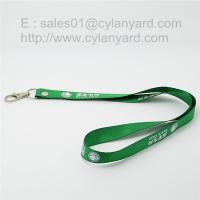 Buy cheap Key holder lanyards, rivet polyester key lanyard with split ring from Wholesalers