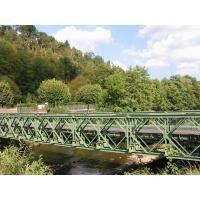 Buy cheap hotel bedspread Prefab Metal Construction Steel Structure Bailey Bridge from Wholesalers