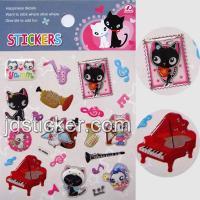 China Animal Epoxy Sticker, 3D Epoxy Sticker, Decorative Sticker on sale