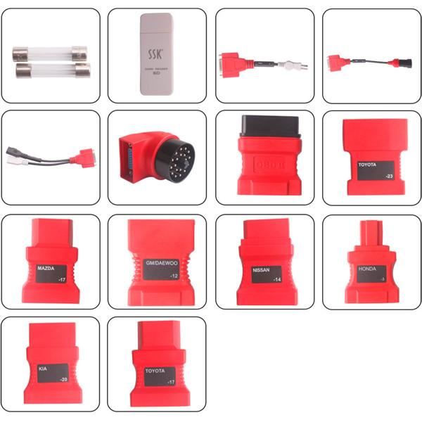 autel ds708 connector list