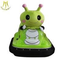 China Hansel New fashion remote control mini children car kids plastic bumper car on sale