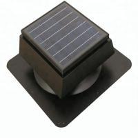 China 15W 9 Inch Solar Powered Attic Fan , Customized Color Solar Roof Turbine Ventilator 900CFM on sale