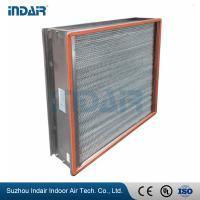 Buy cheap H13 Heat-Resistant Clean Room HEPA Filters , HEPA Air Filter 450Pa Final Pressure Drop from Wholesalers