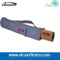 China Ningbo Virson  Yoga mat Bag / Organic Yoga Bag canvas yoga mat bag with zipper& pockets on sale