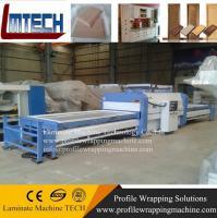 Buy cheap pvc door vacuum membrane press machine for kitchen cabinet door making from Wholesalers